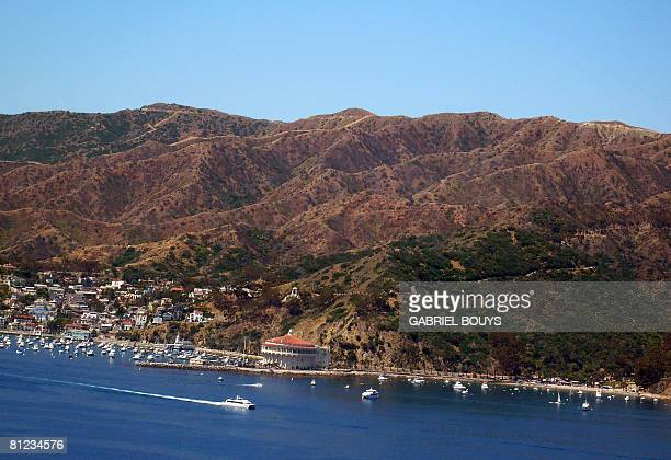 File picture dated May 17 of Avalon on Santa Catalina Island California from a helicopter of the Island Express company A helicopter from the company...