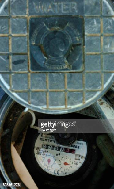 File picture of a Water Meter Wednesday March 1 2006 PRESS ASSOCIATION Photo Photo credit should read Chris Radburn/PA
