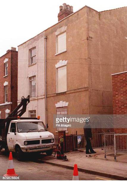 PAP 5 4295 LONDON File picture of builder Frederick West's house in 25 Cromwell Street Gloucester West who was accused of 12 murders was found hanged...