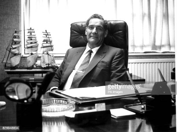 File picture of businessman Maurice Hatter chairman and owner of IMO Precision Controls Ltd has answered Prime Minister Tony Blair's call by pledging...