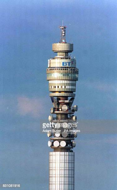 A file picture of the Post Office Tower * 26/3/03 The landmark is one of seven communications structures set to be listed as icons of postwar...