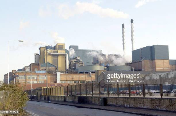 A file picture of The Tate and Lyle sugar refinery in East London dated The Sugar producer Tate Lyle warned today Thursday 29 September 2005 it may...