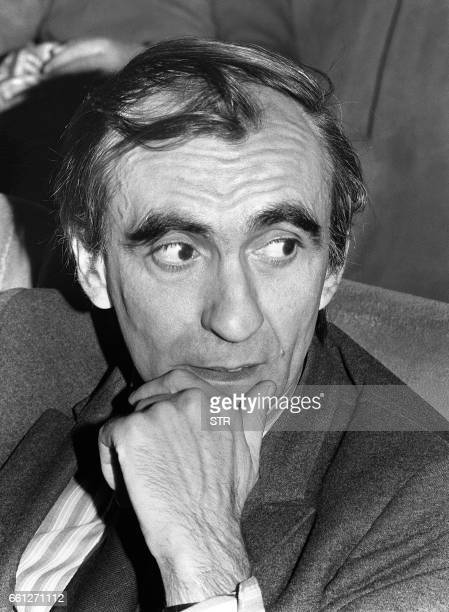 File picture taken 17 April 1973 of late French movie director Pierre GranierDeferre who died 16 november 2007 at age 80 Pierre GranierDeferre was...