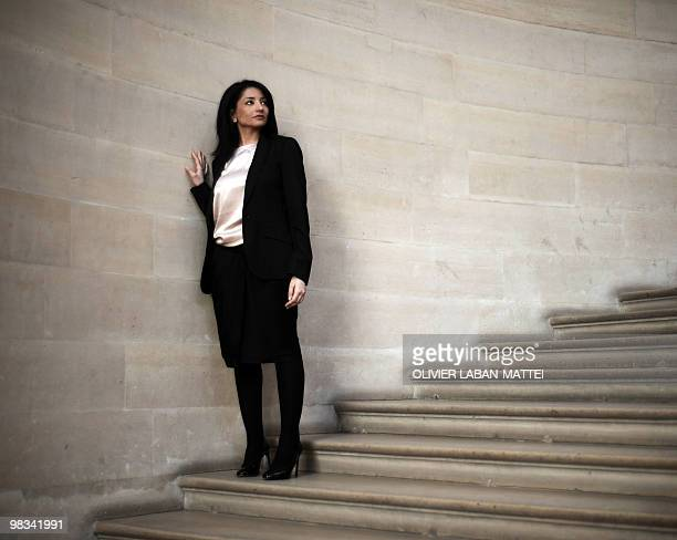 A file picture taken on April 06 2010 at the Conseil d'Etat in Paris shows the new president of the French Equal Opportunities and AntiDiscrimination...