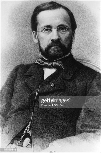 File pictures of Louis Pasteur in France in January 1987 1868