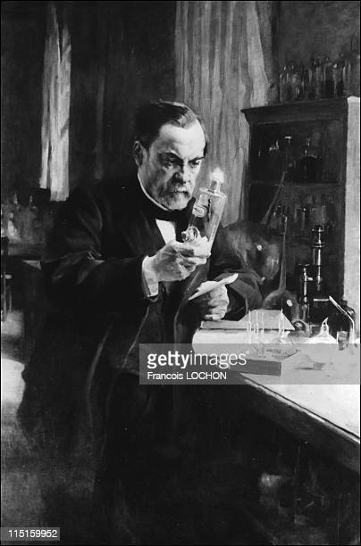 File pictures of Louis Pasteur in France in January 1987