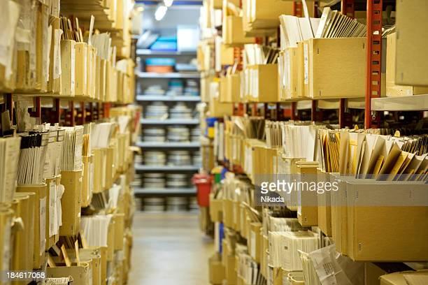 Fichiers dans une archive