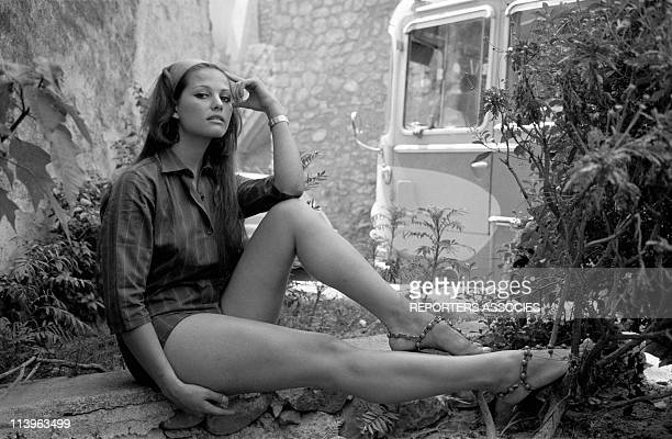 Files Pictures of Italian Actress Claudia Cardinale In Italy In 1950Young Italian actress Claudia Cardinale