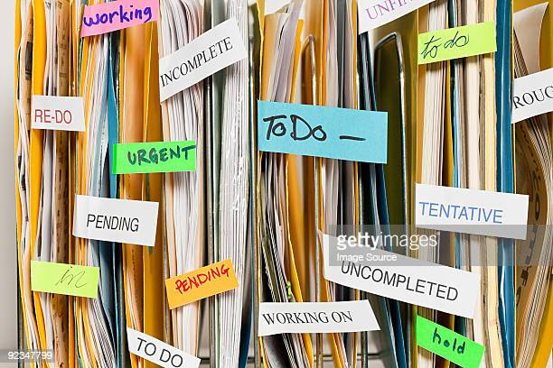 Files with labels