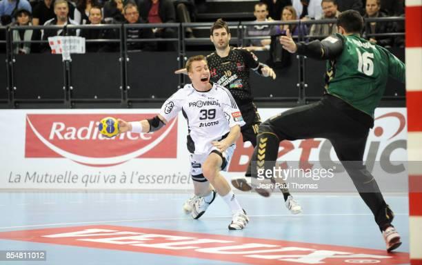 Filip JICHA Cyril DUMOULIN Chambery / Kiel Handball Ligue des Champions
