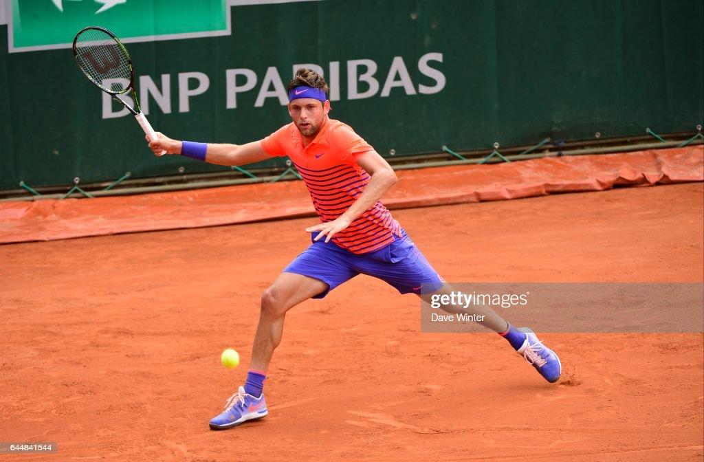 Filip KRAJINOVIC - - Jour 2 - Roland Garros 2015, Photo : Dave Winter / Icon Sport