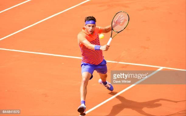Filip KRAJINOVIC Jour 2 Roland Garros 2015 Photo Dave Winter / Icon Sport