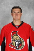 Filip Kuba of the Ottawa Senators poses for his official headshot for the 20102011 NHL season at Scotiabank Place on September 17 2010 in Ottawa...