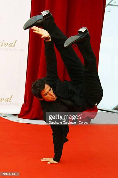 Filip Nikolic attends the TF1 premiere of 'Mystere'