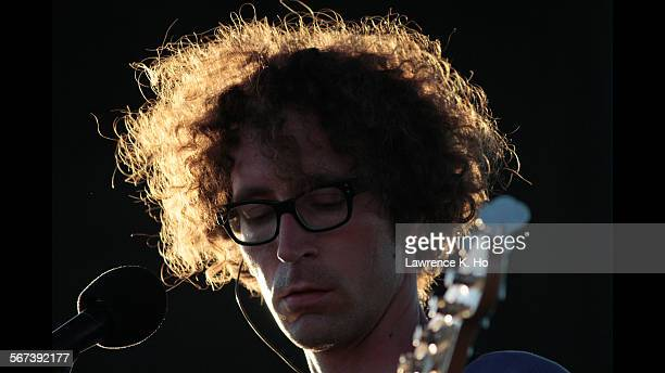 BEACH CA AUG 16 2014 Filip Nikolic of Poolside at the Pacific Festival in Newport Beach on Aug 16 2014 Pacific Festival a new beachside EDM fest in...