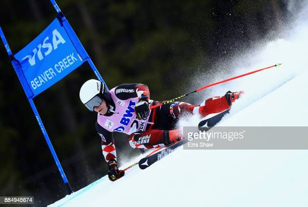 Filip Zubcic of Croatia competes in the first run of the Birds of Prey World Cup Giant Slalom race on December 3 2017 in Beaver Creek Colorado