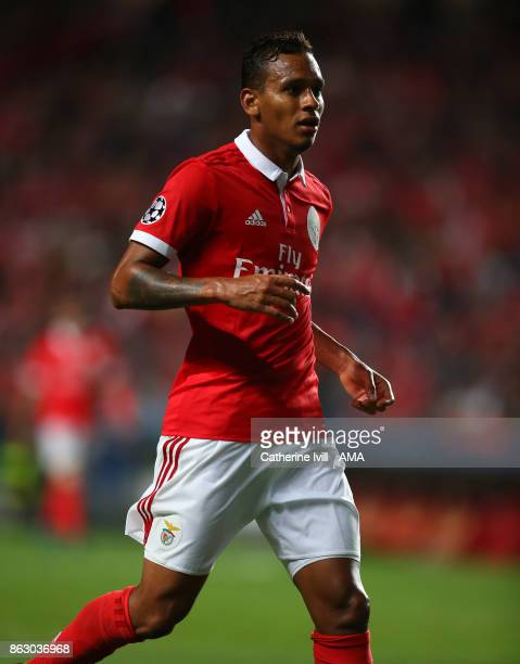 Filipe Augusto of Benfica during the UEFA Champions League group A match between SL Benfica and Manchester United at Estadio da Luz on October 18...