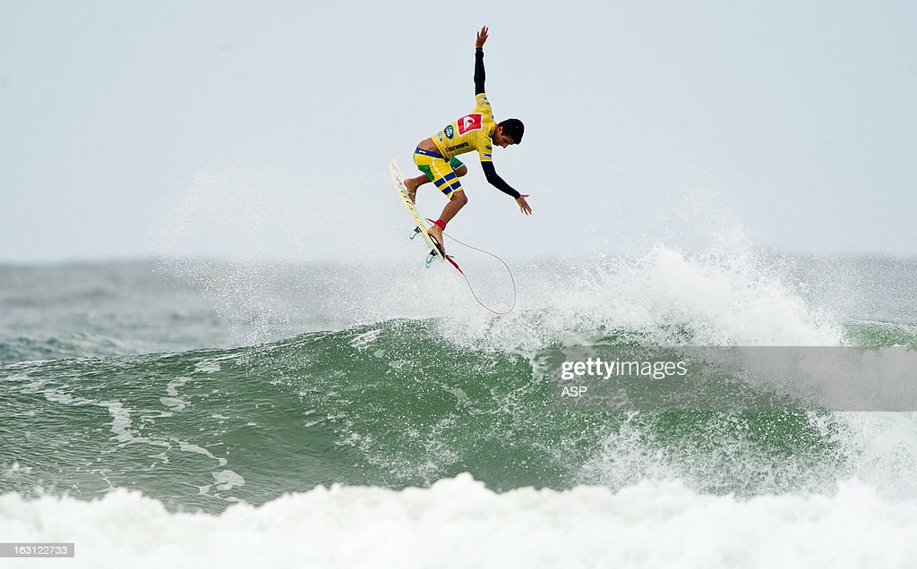 Filipe Toledo of Brazil in action during round one of the Quiksilver Pro Gold Coast 2013 on March 5, 2013 in Gold Coast, Australia.