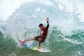 Filipe Toledo of Brazil surfs during the quarterfinals of the Oi Rio Pro on May 16 2015 in Rio de Janeiro Brazil