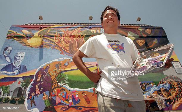 Filipino artist Eliseo Silva has painted a 43–foot by 22–foot mural called Roots and Wings in the heart of the Filipino business community dedicated...