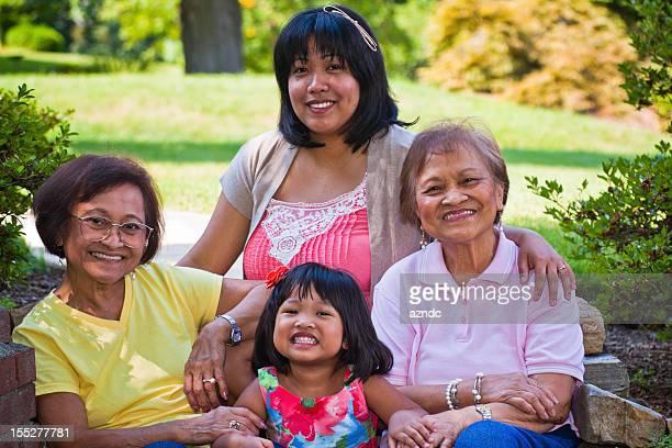 Filipino familia