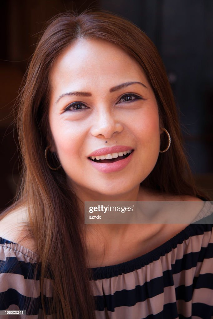 Filipino Woman Stock Photo 18