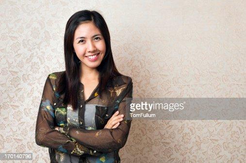 Filipino Woman Stock Photo 35