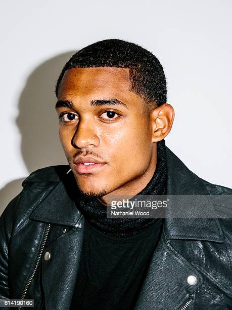 FilipinoAmerican professional basketball player for the Los Angeles Lakers Jordan Clarkson is photographed for GQcom on June 28 2016 in Los Angeles...