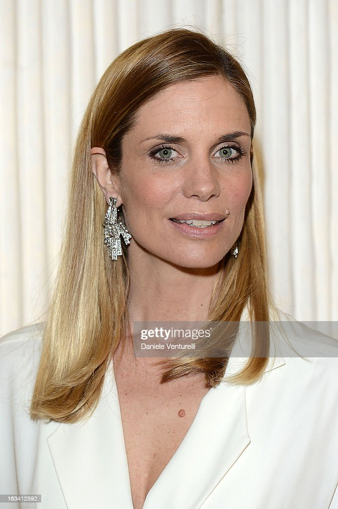 Filippa Lagerback attends the 24th Accademia Del Profumo International Award 2013 at Teatro Manzoni on March 8, 2013 in Bologna, Italy.