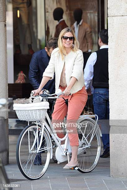 Filippa Lagerback is seen on May 4 2012 in Milan Italy
