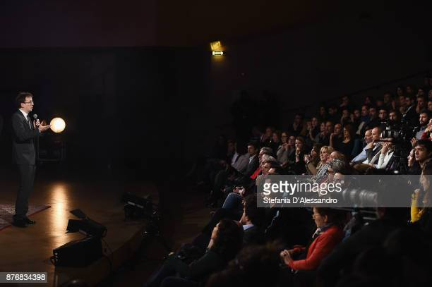 Filippo Del Corno attends Milan Music Week opening at Teatro Del Verme on November 20 2017 in Milan Italy