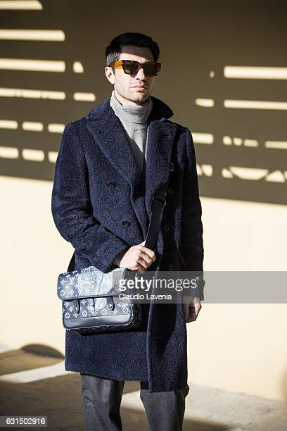 Filippo Fiora is seen on January 11 2017 in Florence Italy