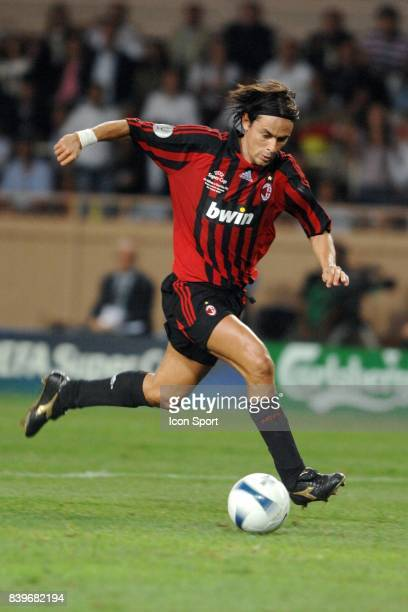 Filippo INZAGHI Milan AC / FC Seville Super coupe d Europe a Monaco