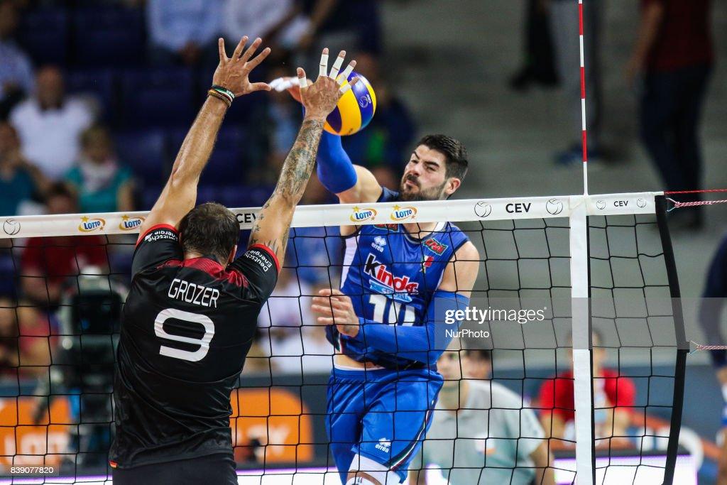 Germany v Italy - Volleyball European Championships