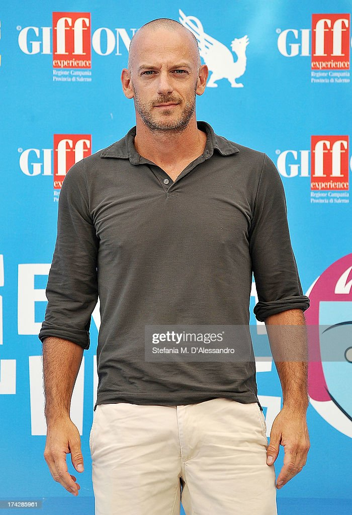 Filippo Nigro attends 2013 Giffoni Film Festival photocall on July 23, 2013 in Giffoni Valle Piana, Italy.