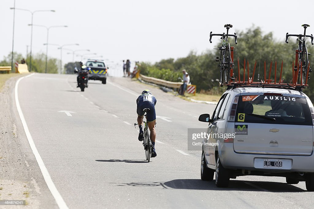 <a gi-track='captionPersonalityLinkClicked' href=/galleries/search?phrase=Filippo+Pozzato&family=editorial&specificpeople=702897 ng-click='$event.stopPropagation()'>Filippo Pozzato</a> of Italy and Team Lampre- Merida in action during Stage Five of the VIII Tour de San Luis, a 19,2 km road stage from San Luis Ð San Luis on January 24, 2014 in San Luis, Argentina.