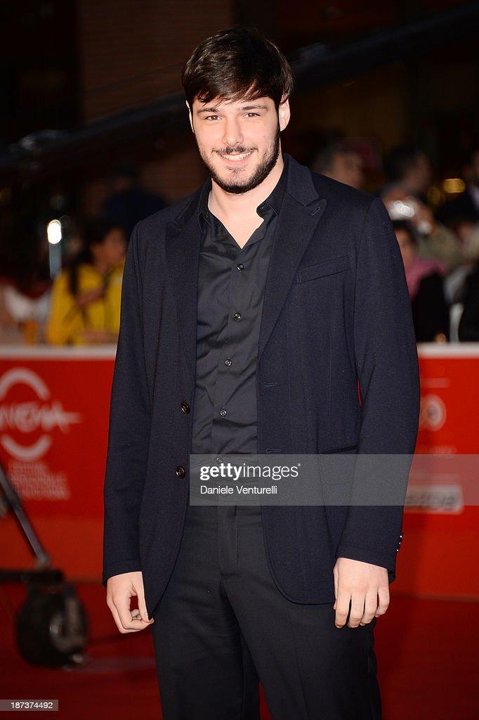 Filippo Scicchitano attends 'Il Mondo Fino In Fondo' Premiere during The 8th Rome Film Festival on November 8, 2013 in Rome, Italy.