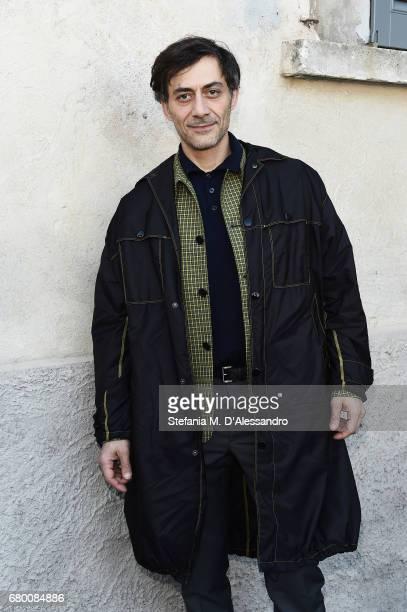 Filippo Timi attends a 'Private view of 'TV 70 Francesco Vezzoli Guarda La Rai' at Fondazione Prada on May 7 2017 in Milan Italy