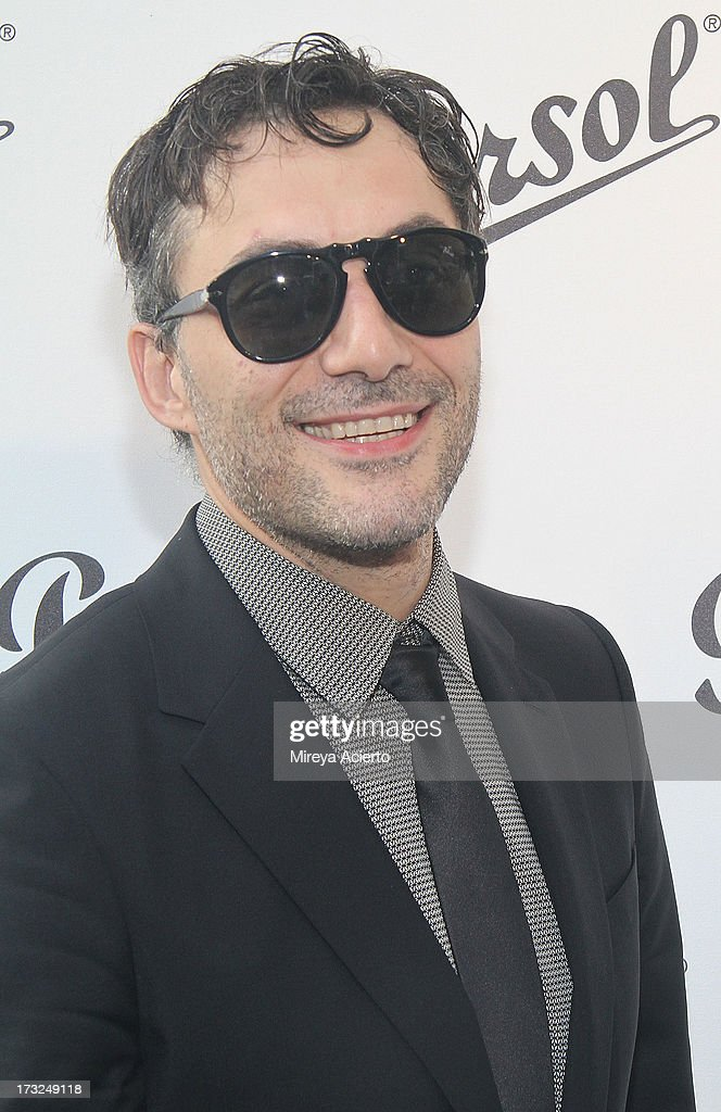 Filippo Timi attends the 'Persol Magnificent Obsessions:30 Stories Of Craftsmanship In Film' Opening at Museum of the Moving Image on July 10, 2013 in the Queens borough of New York City.