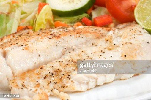Fillet of Fish and Salad