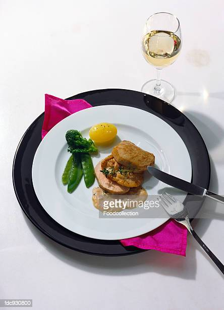 Fillet of Veal and Veal Sweetbreads with Sauce
