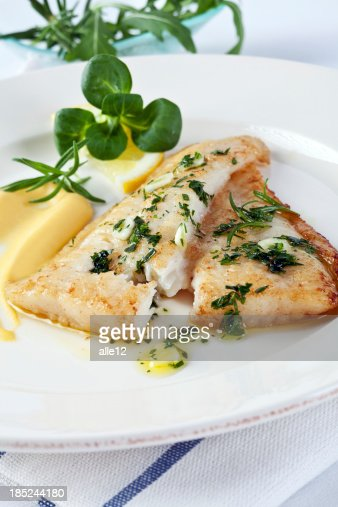 Fillet of white fish