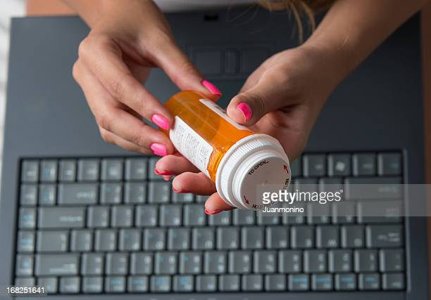 Filling prescription online