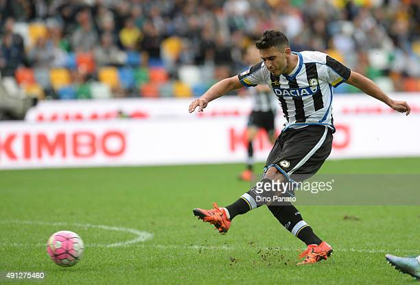 Fillo Marquino de Mattos of Udinese Calcio in action during the Serie A match between Udinese Calcio and Genoa CFC at Stadio Friuli on October 4 2015...