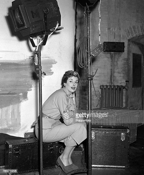 Film 1952 Actress Kay Kendall during the making of the film ' On Next Monday'