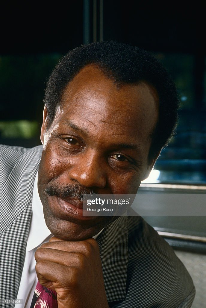 Film actor Danny Glover poses during a 1989 Los Angeles, California, photo portrait session. Glover teamed up with Mel Gibson on the 'Lethal Weapon' action film series.