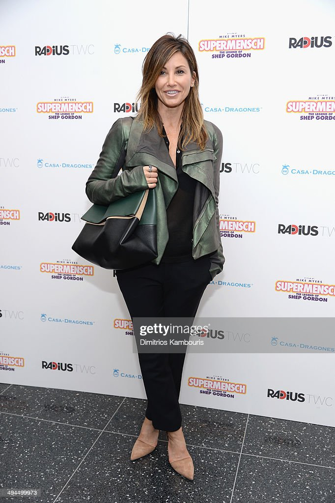Film actress Gina Gershon attends the ''Supermensch: The Legend Of Shep Gordon' screening at The Museum of Modern Art on May 29, 2014 in New York City.