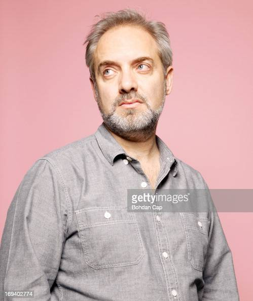 Film and theatre director Sam Mendes is photographed for the Observer on November 22 2012 in London England