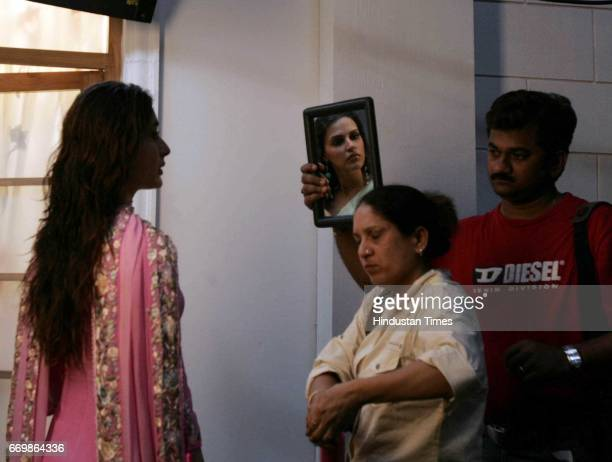 Film Chup Chup Ke Kareena Kapoor on the sets