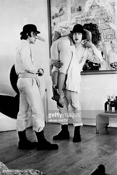 Film 'Clockwork Orange' director Stanley Kubrick Great Britain 1971